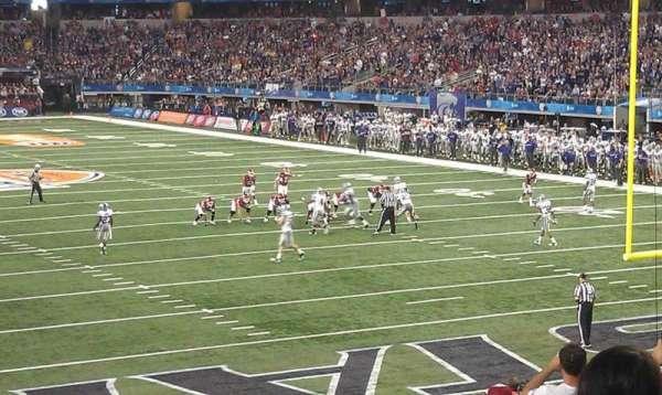 AT&T Stadium, secção: 150, fila: 12h, lugar: 12