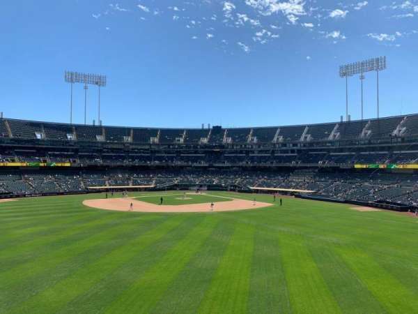 Oakland Coliseum, secção: 139, fila: 39, lugar: 10