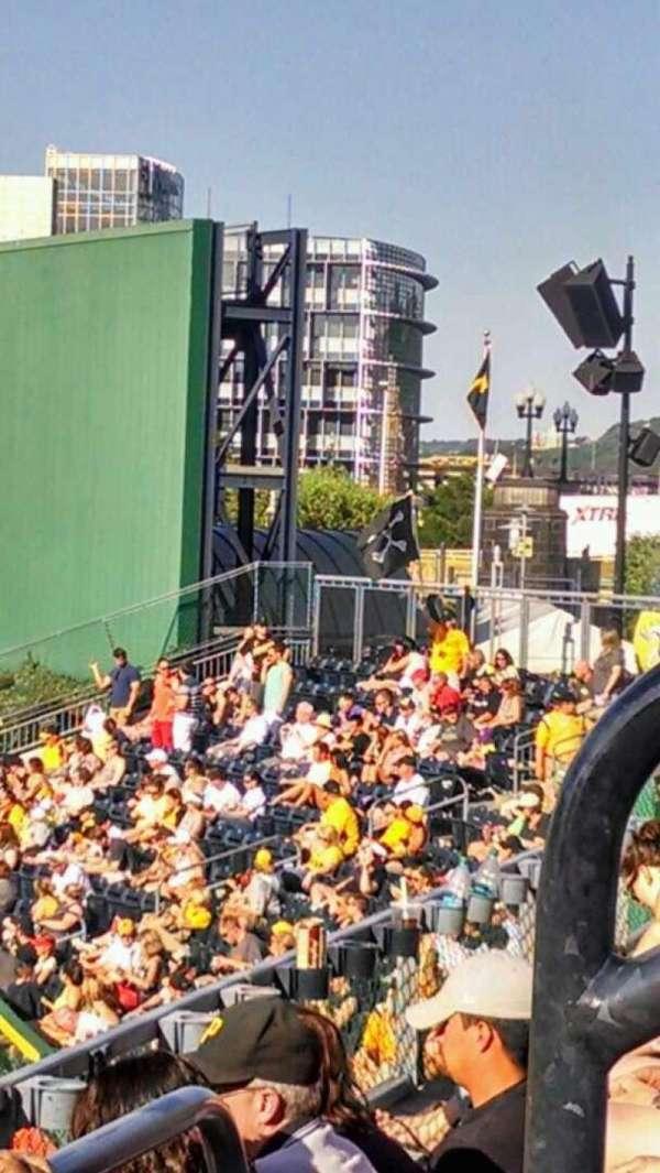 PNC Park, secção: 143, fila: c, lugar: 3