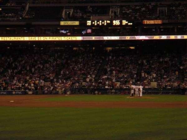 PNC Park, secção: 133, fila: 4
