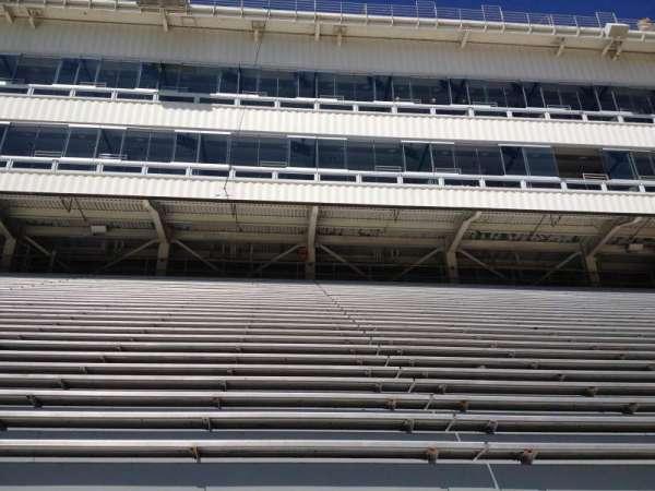 Razorback Stadium, secção: 107, fila: 22, lugar: 20