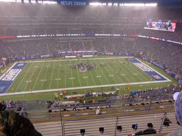MetLife Stadium, secção: 340, fila: 21, lugar: 9