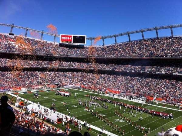 Broncos Stadium at Mile High, secção: 302, fila: 8