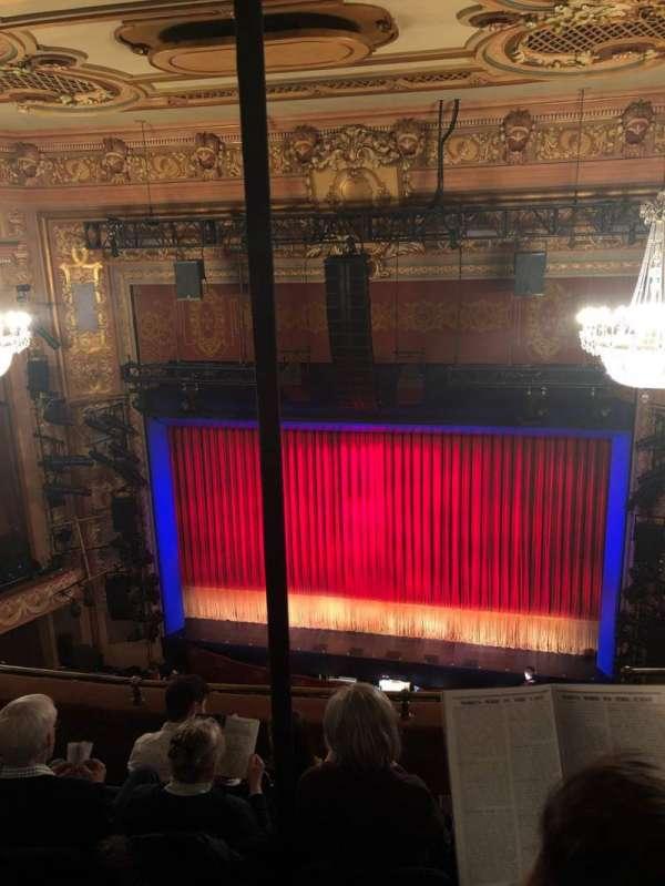 Longacre Theatre, secção: Balcony C, fila: E, lugar: 102