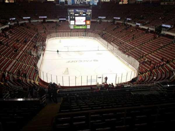 Joe Louis Arena, secção: 215, fila: 17, lugar: 15