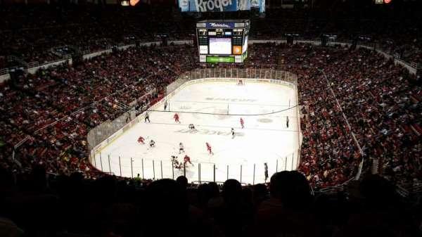 Joe Louis Arena, secção: 213b, fila: 23, lugar: 27
