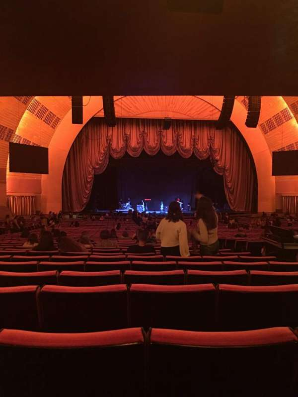 Radio City Music Hall, secção: Orchestra 5, fila: T