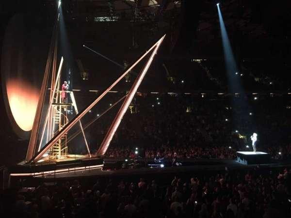 Madison Square Garden, secção: 115, fila: 9, lugar: 12