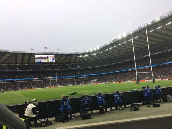 Twickenham Stadium, secção: L36, fila: 3, lugar: 246
