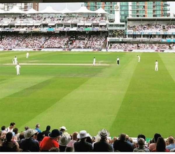 Lord's Cricket Ground, secção: Grand Stand Lower Tier: Block 11, fila: 19, lugar: 44