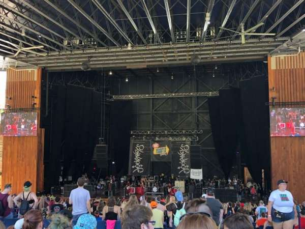 Merriweather Post Pavilion, secção: GA