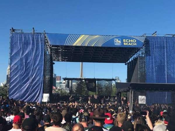 Budweiser Stage, secção: GA