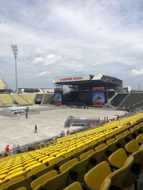 Mapfre Stadium, secção: 108
