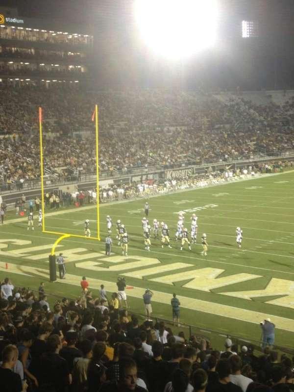 Spectrum Stadium, secção: 235, fila: 1