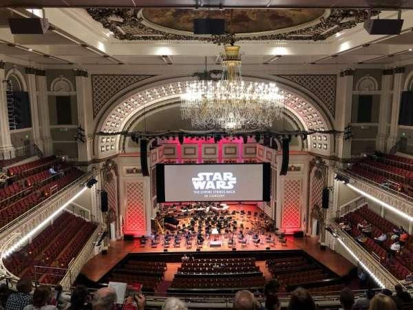 Cincinnati Music Hall, secção: GAL 4, fila: K, lugar: 412