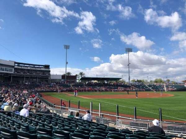 Goodyear Ballpark, secção: 211, fila: M, lugar: 2