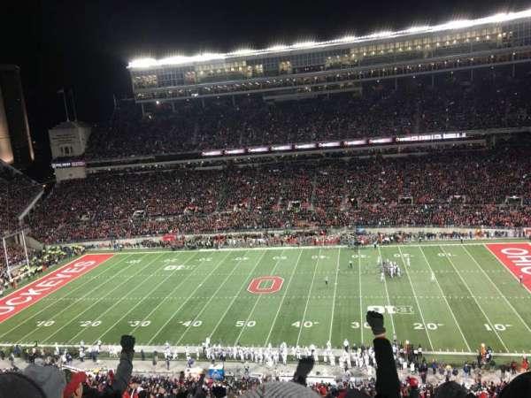 Ohio Stadium, secção: 20C, fila: 16, lugar: 6
