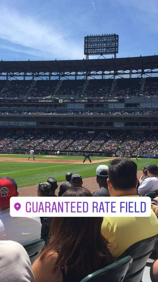 Guaranteed Rate Field, secção: 149, fila: 3, lugar: 5
