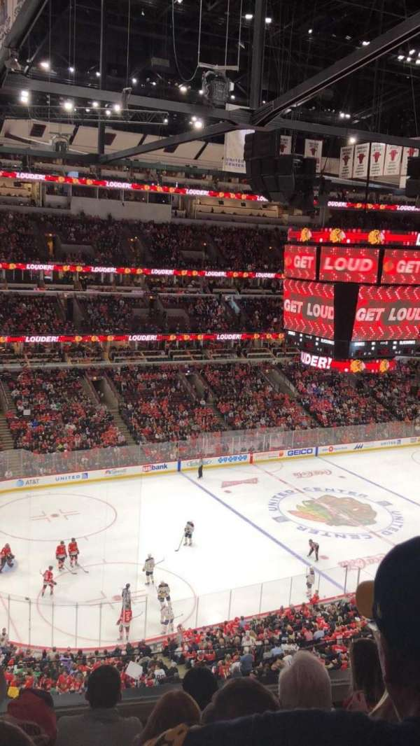 United Center, secção: 304, fila: 5, lugar: 1
