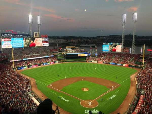Great American Ball Park, secção: 523, fila: N, lugar: 18