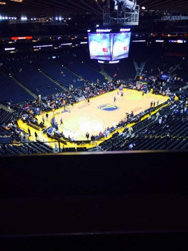 Oakland Arena, secção: 205, fila: 5, lugar: 3