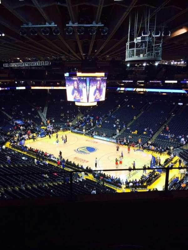 Oakland Arena, secção: 213, fila: 3, lugar: 3