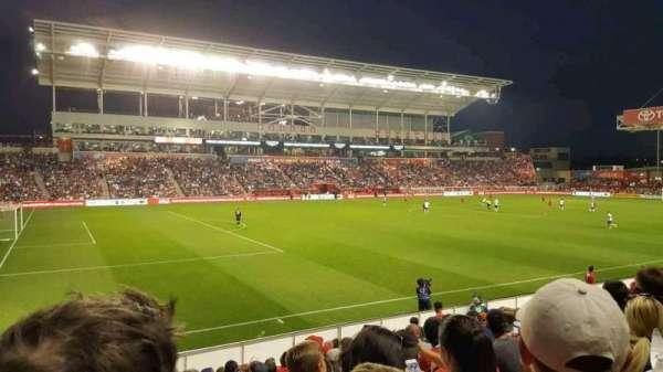 SeatGeek Stadium, secção: 111, fila: 13, lugar: 18