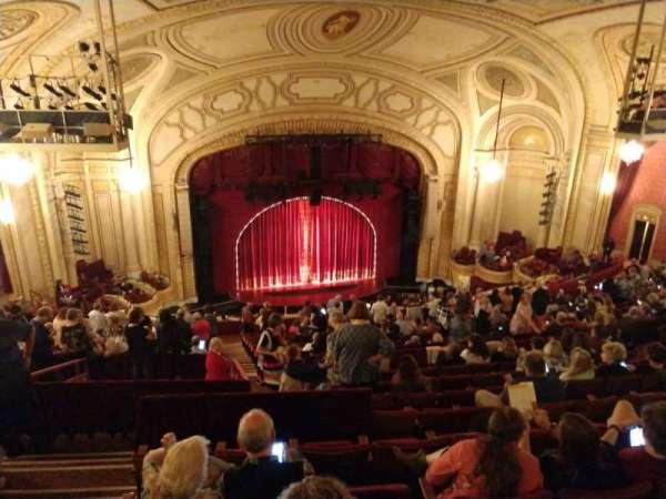 Connor Palace, secção: Balcony, fila: X, lugar: 314