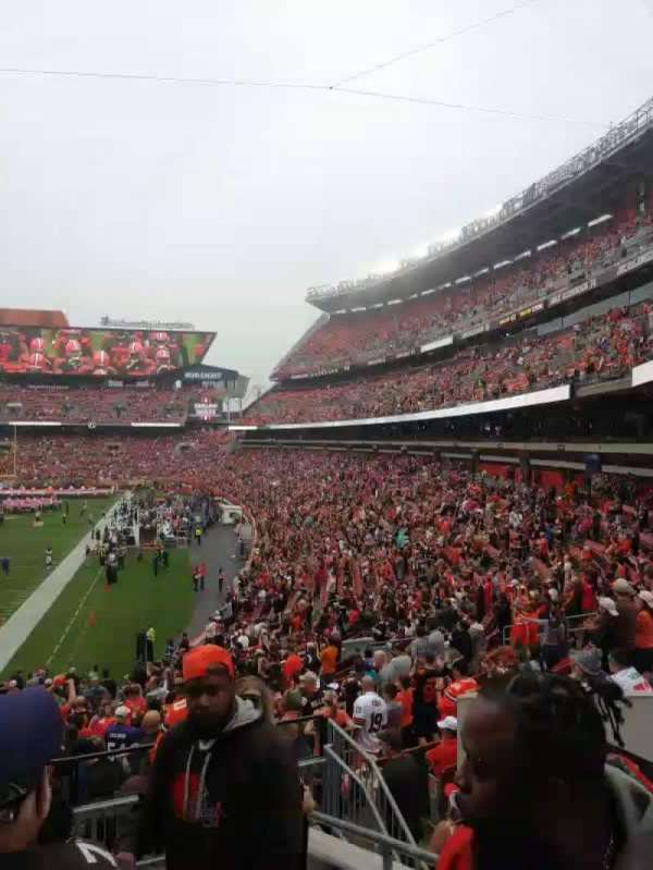 FirstEnergy Stadium, secção: 149, fila: 30, lugar: 25