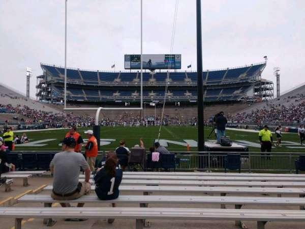 Beaver Stadium, secção: NF, fila: K, lugar: 9