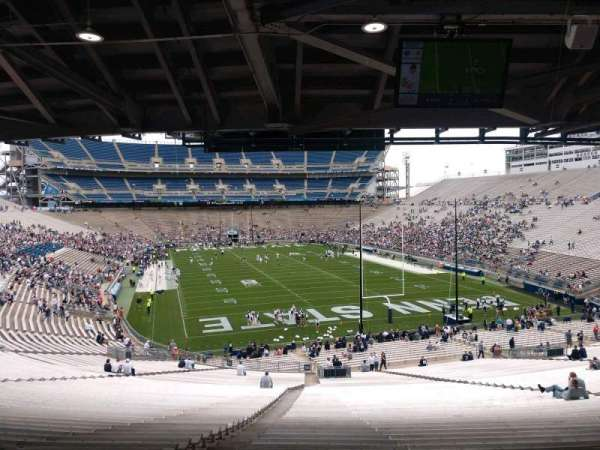 Beaver Stadium, secção: NH, fila: 60, lugar: 5