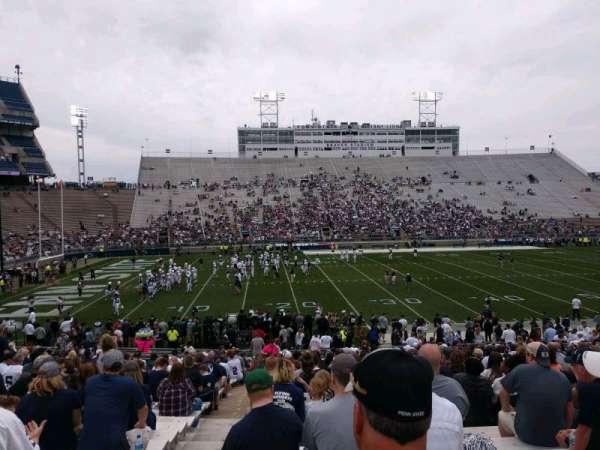 Beaver Stadium, secção: EC, fila: 13, lugar: 1