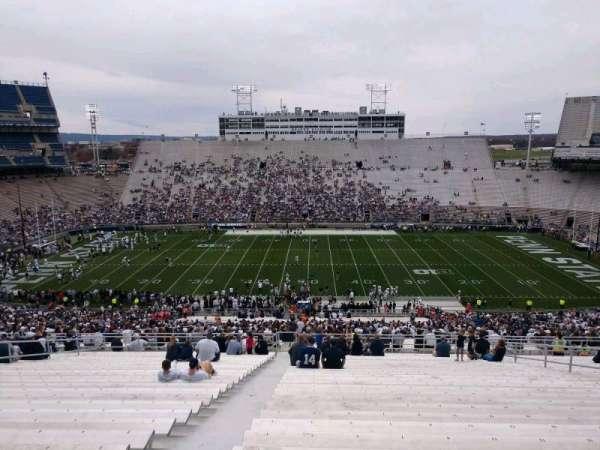 Beaver Stadium, secção: EEU, fila: 70, lugar: 3