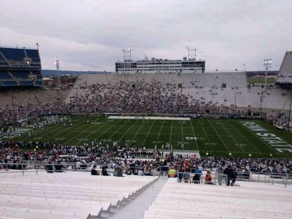 Beaver Stadium, secção: EFU, fila: 70, lugar: 3