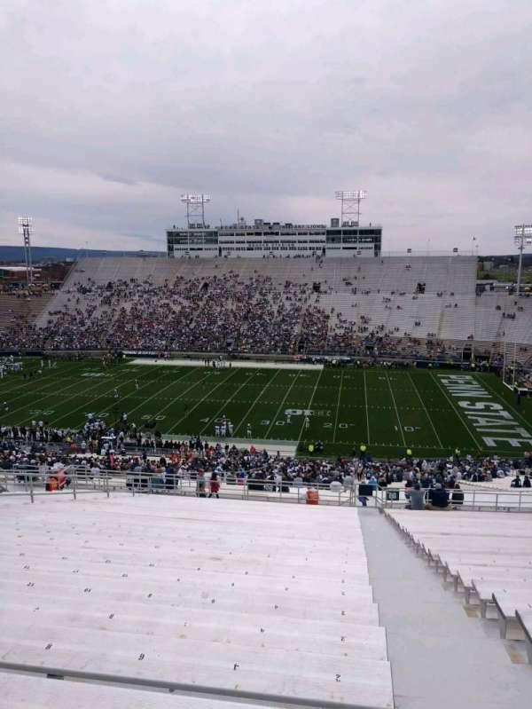 Beaver Stadium, secção: EGU, fila: 70, lugar: 2