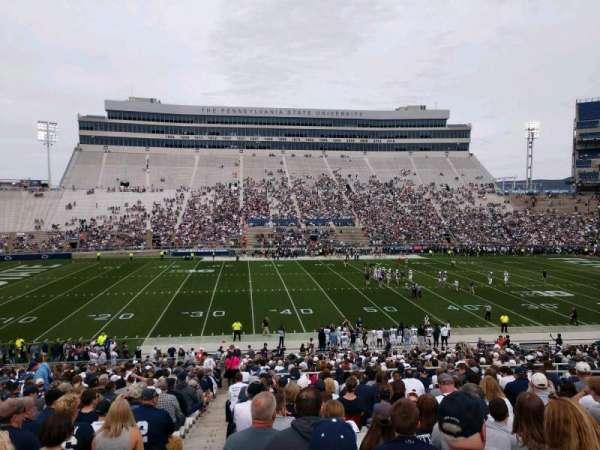 Beaver Stadium, secção: WF, fila: 27, lugar: 1