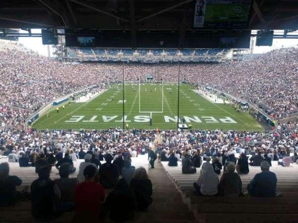 Beaver Stadium, secção: NF, fila: 60, lugar: 2