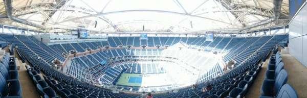 Arthur Ashe Stadium, secção: 311, fila: S, lugar: 10