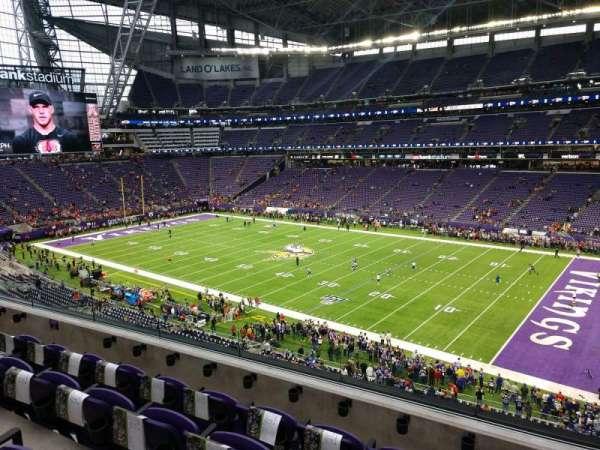 U.S. Bank Stadium, secção: 229, fila: 4, lugar: 4