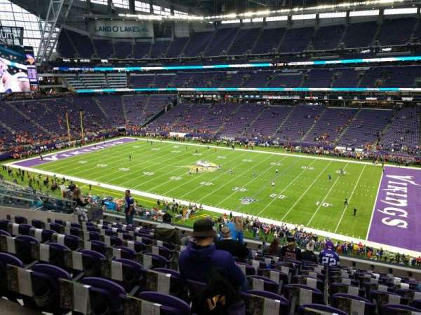 U.S. Bank Stadium, secção: 230, fila: 11, lugar: 9