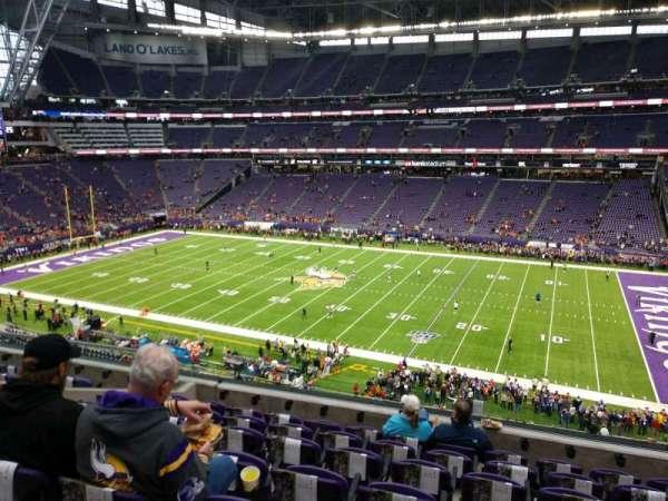 U.S. Bank Stadium, secção: 231, fila: 7, lugar: 2