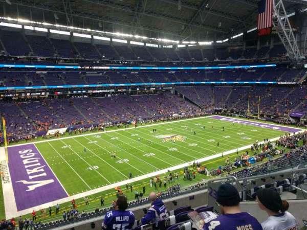 U.S. Bank Stadium, secção: 239, fila: 5, lugar: 5
