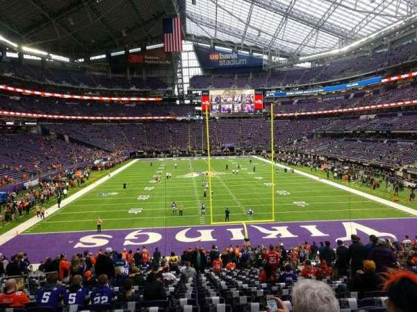 U.S. Bank Stadium, secção: 142, fila: 25, lugar: 11
