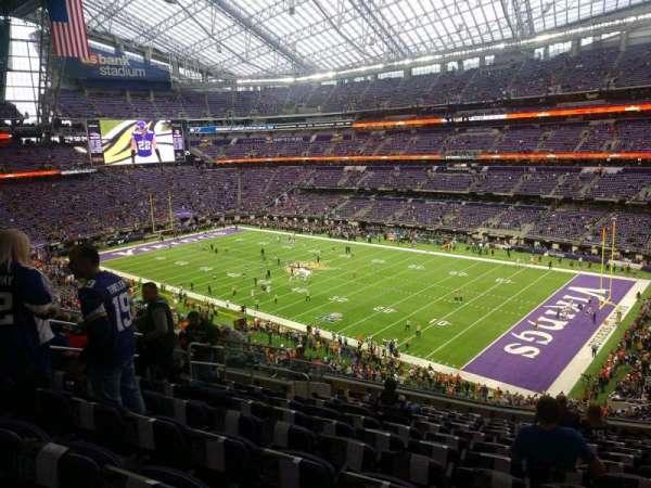 U.S. Bank Stadium, secção: 205, fila: 13, lugar: 11