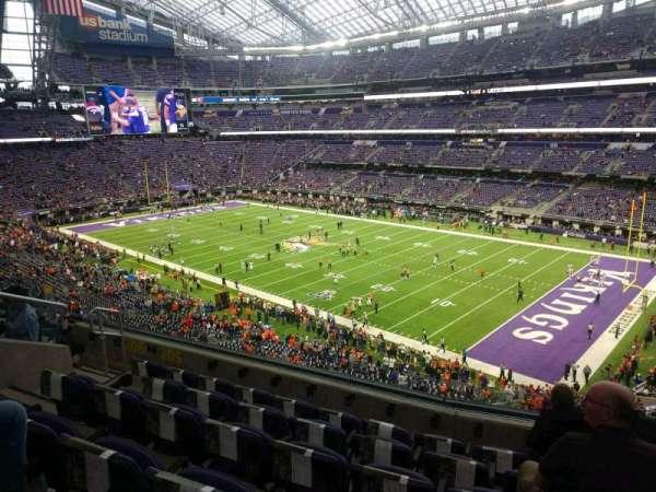 U.S. Bank Stadium, secção: 205, fila: 6, lugar: 9