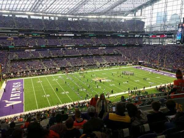 U.S. Bank Stadium, secção: 215, fila: 11, lugar: 7