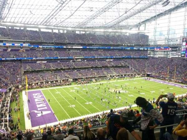 U.S. Bank Stadium, secção: 216, fila: 11, lugar: 8