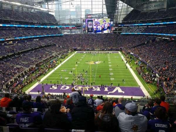 U.S. Bank Stadium, secção: 223, fila: 12, lugar: 6