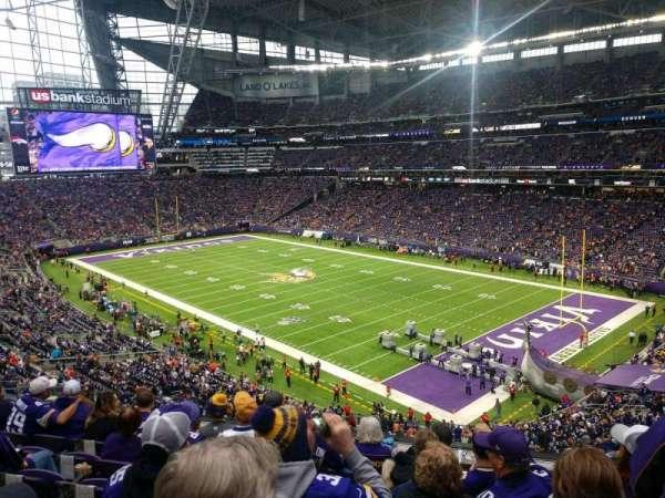 U.S. Bank Stadium, secção: 227, fila: 6, lugar: 7
