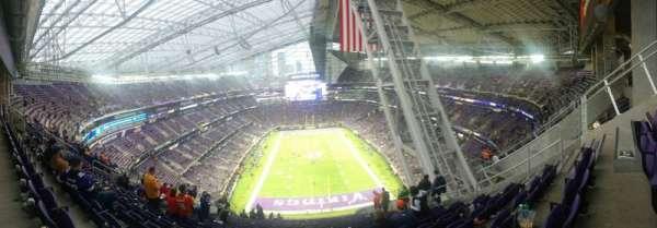 U.S. Bank Stadium, secção: 327, fila: 16, lugar: 6